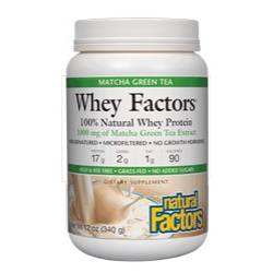Whey Factors Drink Mix Matcha Green Tea