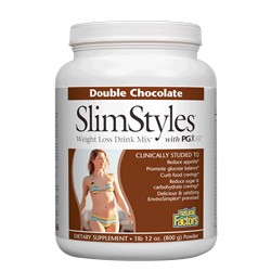 Slimstyles Weight Loss Drink Mix Double Chocolate