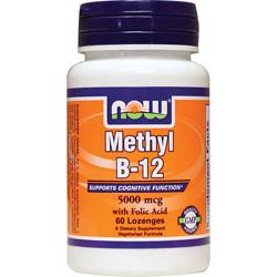 Methyl B-12 5,000 mcg