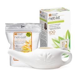 Eco Neti Kit- Eco Pot with 6oz salt