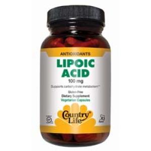 Lipoic Acid 100 Mg Caps 50