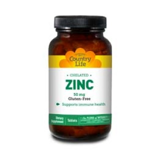 Chelated Zinc 50 Mg. 100