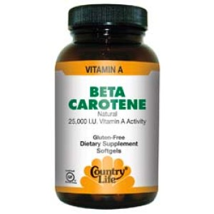 Beta Carotene Caps 50's
