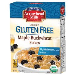 Organic Gluten Free Maple Buckwheat Flakes