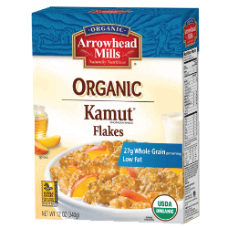 Organic Kamut Flakes Cereal