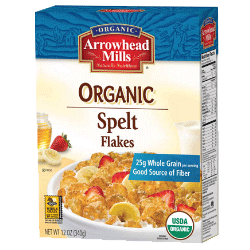 Organic Spelt Flakes Cereal