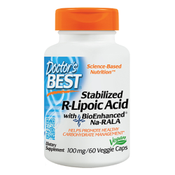 Best Stabilized R Lipoic Acid-100 Mg
