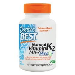 Natural Vitamin K2 Menaq7 45 mcg