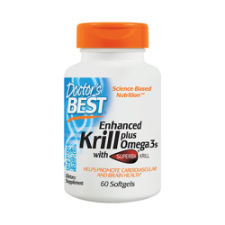 Enhanced Krill plus Omega3s with Superba Krill