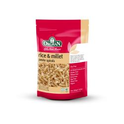 Orgran Rice & Millet Spirals Gf K