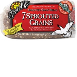 Organic 7-Sprouted Whole Grain Bread
