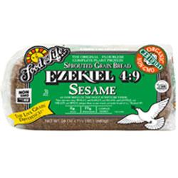 Organic Ezekiel 4:9 Sprouted Whole Grain Sesame Bread
