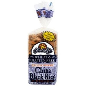 Gluten/wheat Free Black Rice China Bread
